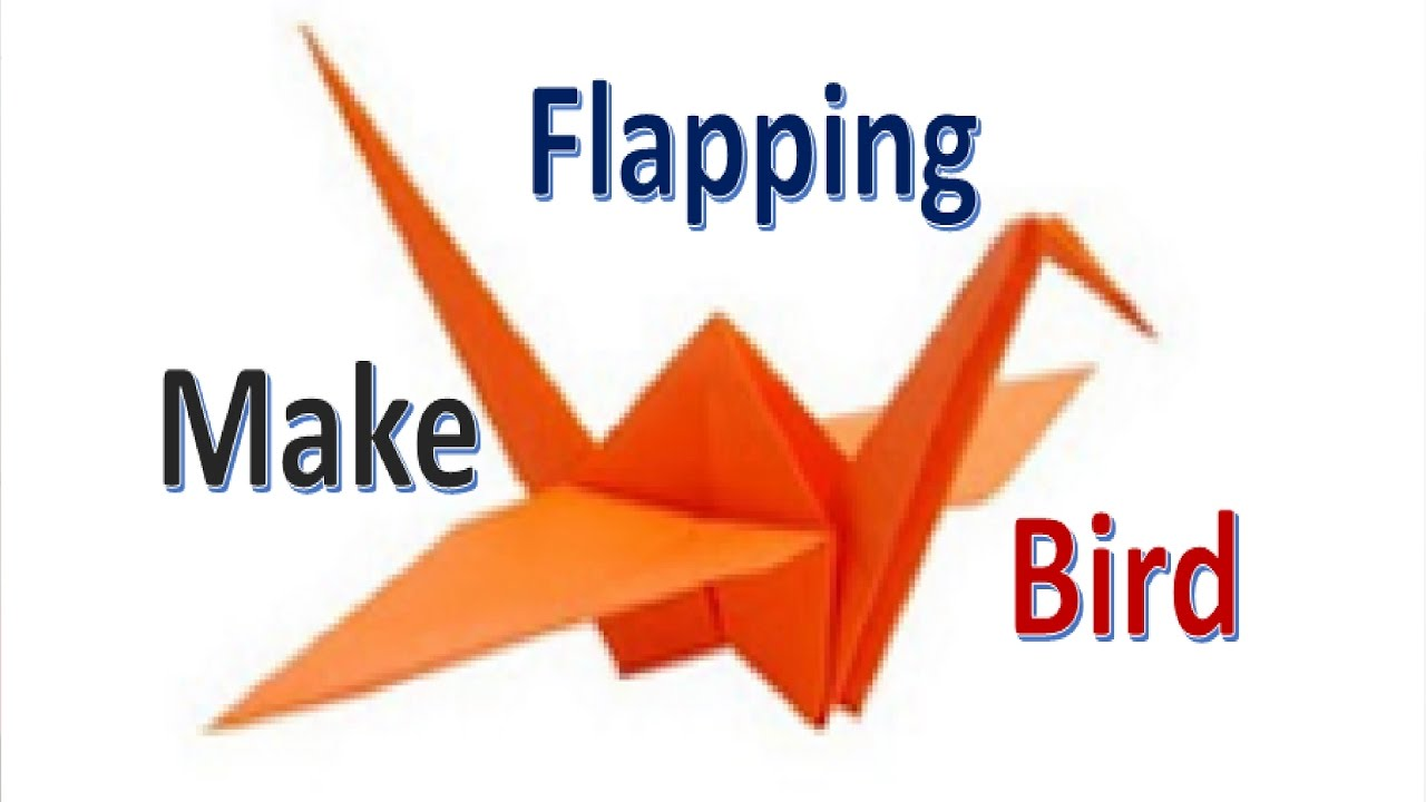 Animated Origami Instructions: Flapping Bird: Lesson | 720x1280