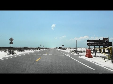 GULF ISLANDS NATIONAL SEASHORE,  FLORIDA, USA
