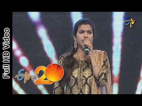 Sravana Bhargavi Performance - Allegra Song in Rajamandry ETV @ 20 Celebrations