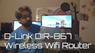 If your internet speed Lags then get this!!! D-link DIR-867