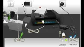 Branchement du mini-ONT sur une box de SFR en Fibre Optique (NB5)