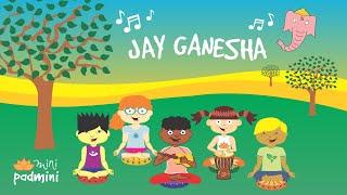 🎶 Mantra JAY GANESHA | MiniPadmini (Yoga para niños y niñas)