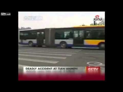 Car with 3 Uighur Muslims hits pole and explodes in Tiananmen Square