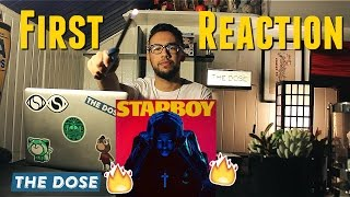 The Weeknd - Starboy  First Reaction // The Album of The Life