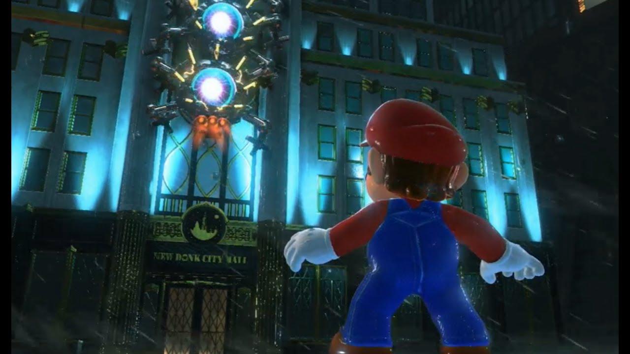 Super Mario Odyssey Fighting A Mecha Wiggler E3 2017 Youtube