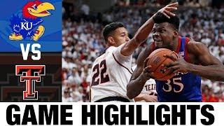Gambar cover #1 Kansas vs Texas Tech Highlights 2020 College Basketball