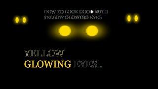 Wie man gut aussehen mit gelb leuchtenden Augen | ROBLOX