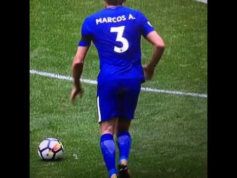 Marcos Alonso Wonderful Free Kick Goal v Tottenham. 20.08.17