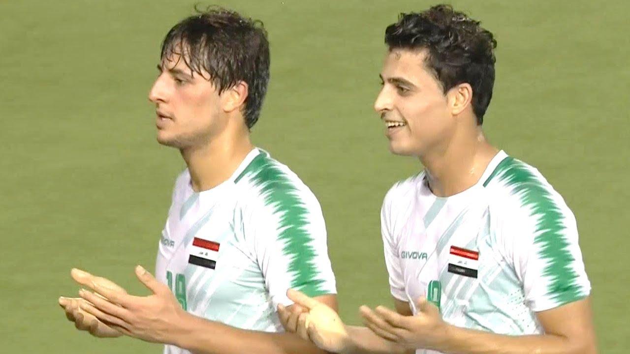 ملخص مباراة العراق وكمبوديا 4-0   تصفيات كأس العالم 2022