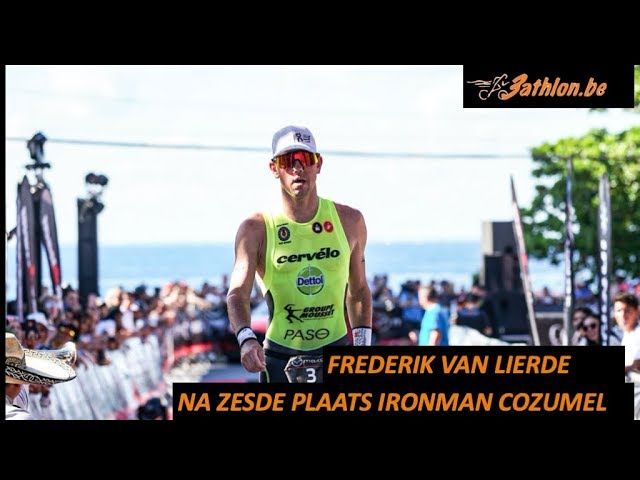 Frederik Van Lierde blikt terug op Ironman Cozumel