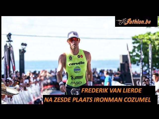 Frederik Van Lierde blikt terug op Ironman Cozumel