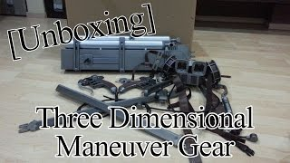 [Unboxing] SnK Three Dimensional Maneuver Gear