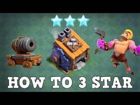 BARB + CANNON CART: BH8 ATTACK STARTEGY | 3 STAR BUILDER HALL 8 ATTACKS | CLASH OF CLANS