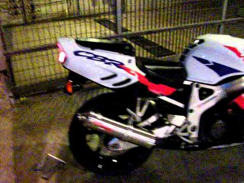 Honda Cbr 900 Rr Fireblade 1997 With Gpr Exhaust 1 Youtube