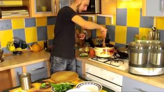 Вкусный рецепт тушеная картошка с мясом || Рецепты холостяка
