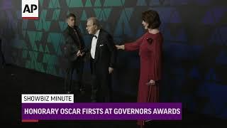 ShowBiz Minute: Bieber, Governors Awards, US Box Office