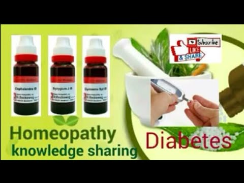 Diabetes (Sugar) medicine in homeopathic explain by Dr-Abdul