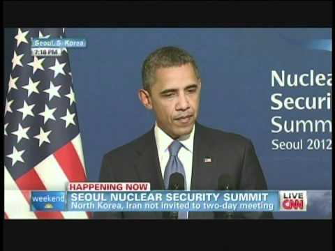 President Obama & President Lee Nuclear Security Summit Seoul South Korea (March 25, 2012) [3/3]
