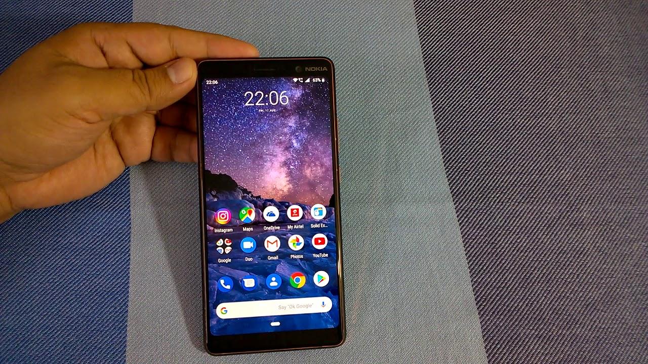 Digital Wellbeing present in Nokia 6 & Nokia 8 Android Pie update