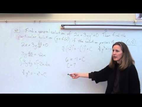 Price AP Calculus AB - 6-3 - Separable Differential Equations