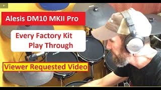 Alesis DM10 MKII Pro - Every Factory Kit Sample