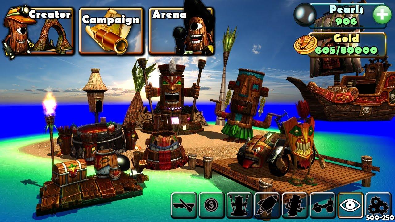 kart island Arb Studios March 2017 Development Update, Tiki Kart Island and  kart island
