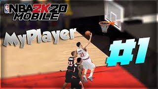 NBA 2K20 IOS/ANDROID My Career | Player Creation & 1st Game EP 1!!