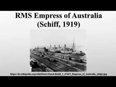 RMS Empress of Australia (Schiff, 1919)