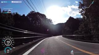矢ノ川峠(国道42号)〜鬼ヶ城