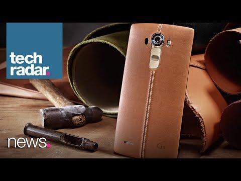 TechRadar Talks - Is The LG G4 Really Leather?
