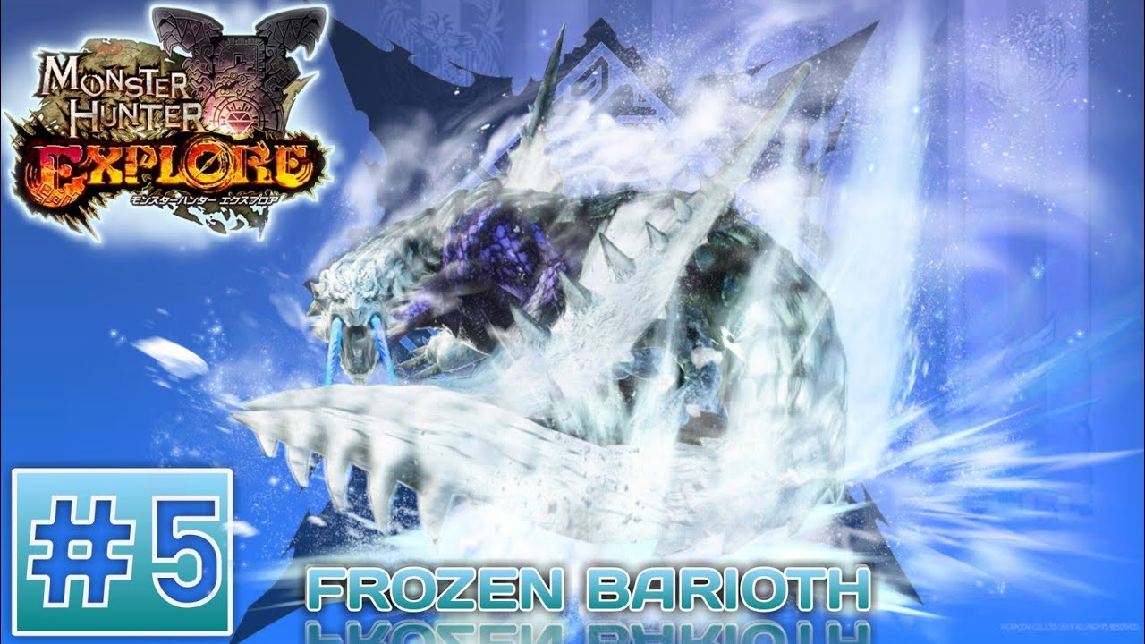 Monster Hunter Frozen Barioth New Event Android Gameplay Youtube