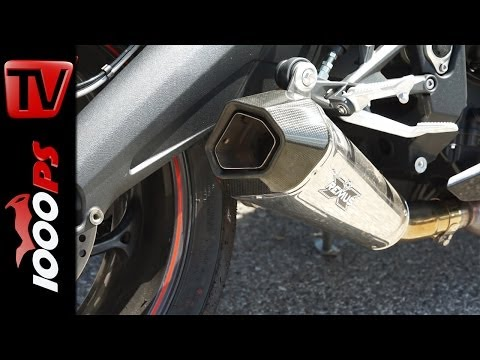 Remus HYPERCONE Soundcheck 2014 | Triumph Daytona 675 R