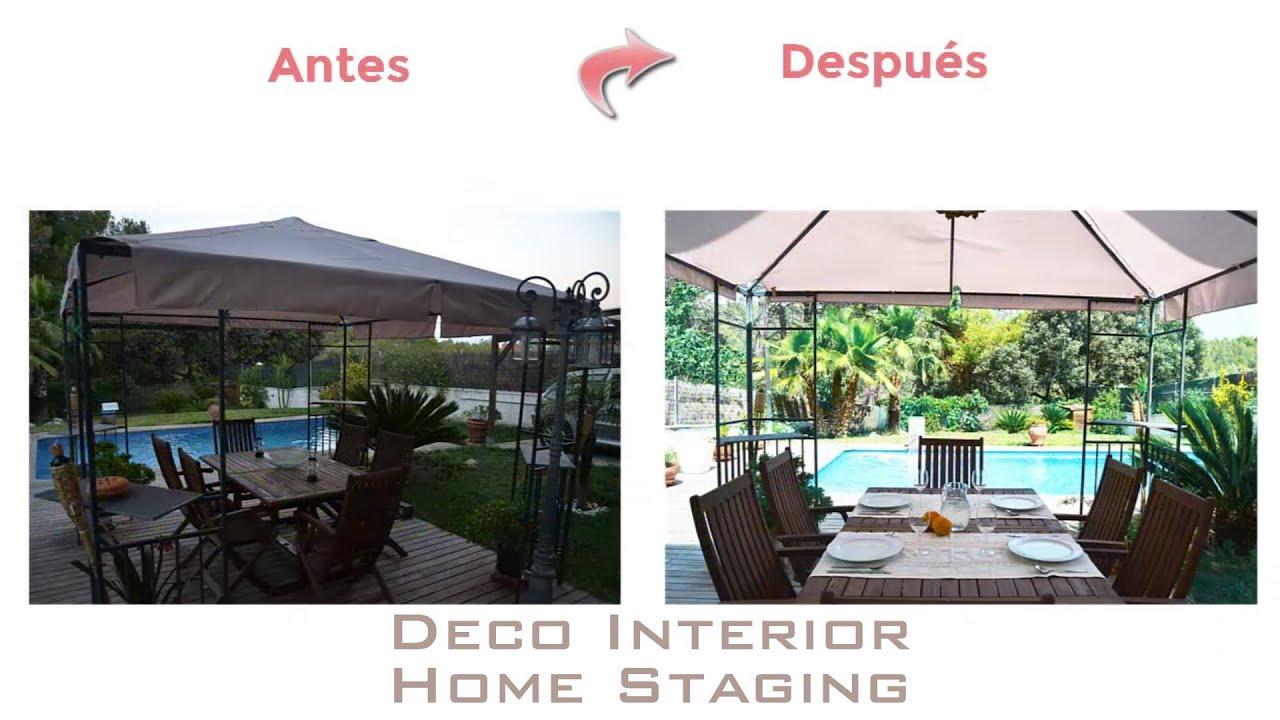 home staging antes y despu s casa en piera deco interior youtube. Black Bedroom Furniture Sets. Home Design Ideas