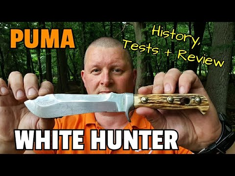 PUMA WHITE HUNTER - History, Tests And Review On This Legendary German Knife!