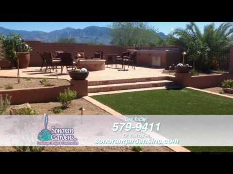 Landscape Design & Construction Tucson | Sonoran Gardens - Landscape Design & Construction Tucson Sonoran Gardens - YouTube