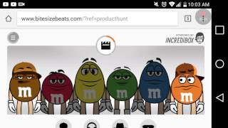 M and ms and incredibox