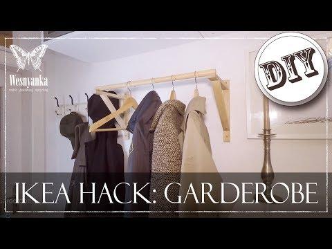 diy-:-ikea-hack-|-garderobe-für-den-flur