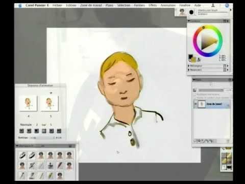 comment faire un dessin anime avec corel painter youtube. Black Bedroom Furniture Sets. Home Design Ideas