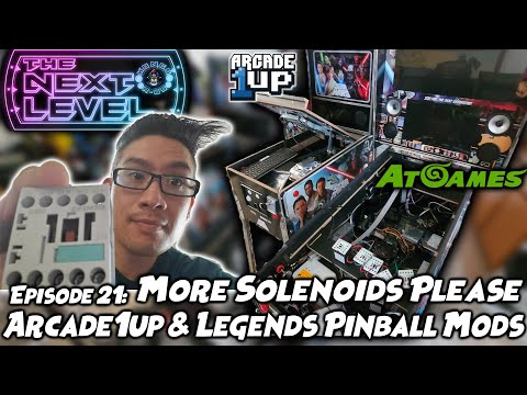 Adding More Solenoids - Arcade1Up & Legends Pinball Modding (The Next Level: Ep 21) from Kongs-R-Us