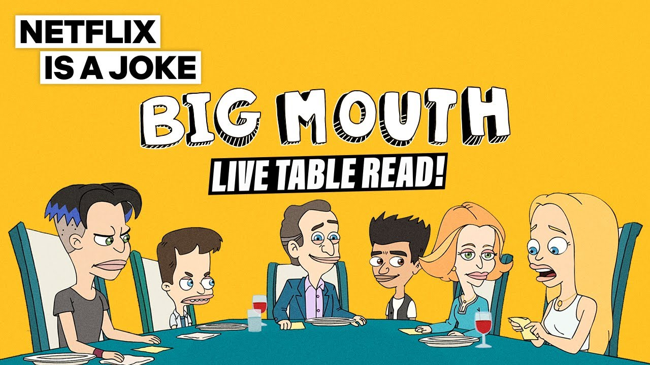 Download Big Mouth Live Table Read | Netflix Is A Joke