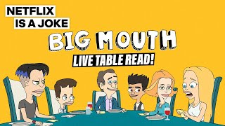 Big Mouth Live Table Read | Netflix Is A Joke