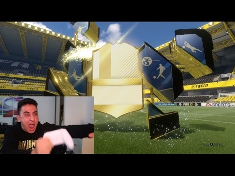 LEGENDARY TOTY PACK OPENING!!! FIFA 17 TEAM OF THE YEAR PACK OPENING