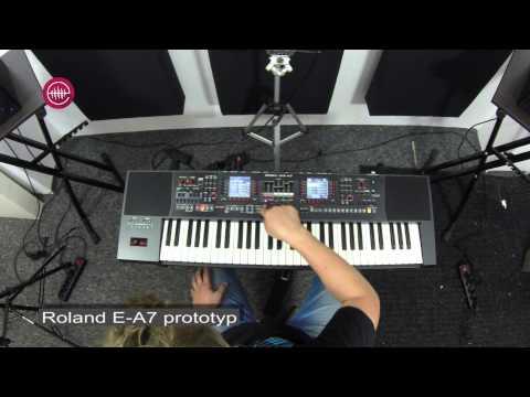 Roland E-A7 demo - YouTube