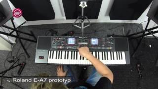 Roland E-A7 demo