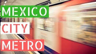 Using the Metro in Mexico City (Mexico City Subway) // Gringos in Mexico City Vlog