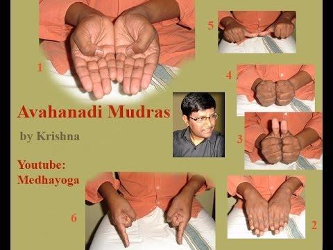 Sri Vidya Avahanadi Mudras By Krishna