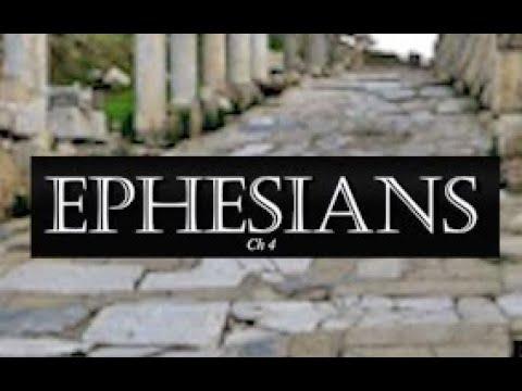 Bible Study Paul's Epistle to the Ephesians Chapter 4