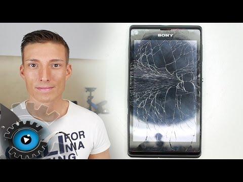 Sony Xperia L Glas Digitizer Wechseln Tauschen unter 20€ reparieren[Deutsch]