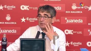 Rueda de prensa de Fernando Vázquez tras el RCD Mallorca vs AD Alcorcón (1-0)