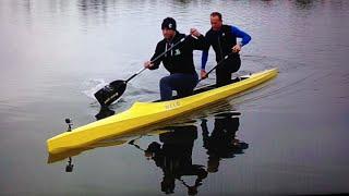 Dmitry Klokov & Andrey Ganin - Canoe training